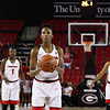 Georgia guard/forward Pachis Roberts (11) during the Lady Bulldogs' game with Mercer at Stegeman Coliseum in Athens, Ga., on Sunday, Nov. 13, 2016. (Photo by Cory A. Cole)