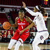 Georgia guard Shanea Armbrister (1) during the Lady Bulldogs' game with South Carolina at Stegeman Coliseum in Athens, Ga., on Thursday, Jan. 26, 2017. (Photo by John Paul Van Wert)