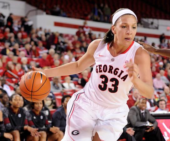Mackenzie Engram (33)    - UGA Women's Basketball Team -  (Photo from Georgia Sports Communication)