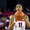 Georgia guard/forward Pachis Roberts (11) during the Lady Bulldogs' game against Kentucky at Stegemen Coliseum in Athens, Ga., on Thursday, February 9, 2017. (Photo by John Paul Van Wert)