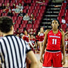 Georgia guard/forward Pachis Roberts (11) during the Lady Bulldogs' game with South Carolina at Stegeman Coliseum in Athens, Ga., on Thursday, Jan. 26, 2017. (Photo by John Paul Van Wert)