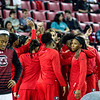 Members of the Georgia women's basketball team during the Lady Bulldogs' game with South Carolina at Stegeman Coliseum in Athens, Ga., on Thursday, Jan. 26, 2017. (Photo by John Paul Van Wert)