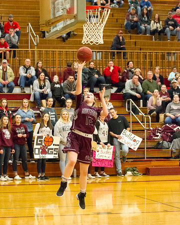Hoquiam HS vs. Montesano HS, ladies varsity, February 2, 2018