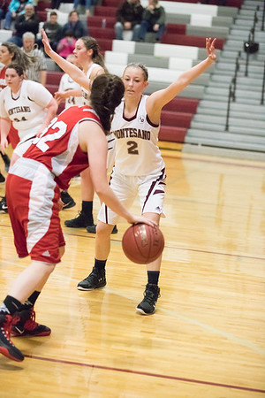 Montesano HS vs. Castle Rock HS, ladies, December 8, 2017
