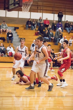 Montesano HS vs. Castle Rock HS, mens varsity, December 8, 2017