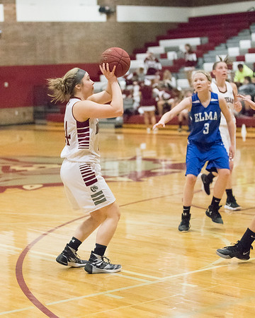 Montesano HS vs. Elma HS, ladies, January 9, 2018
