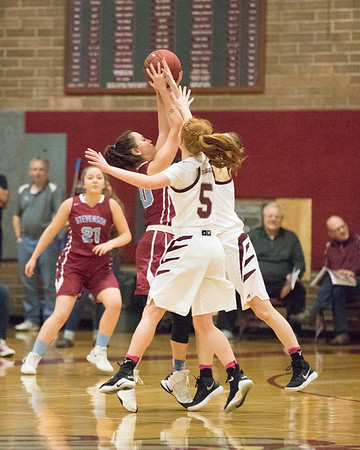 Montesano HS vs. Stevenson HS, ladies, February 13, 2018