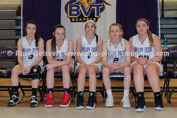 BVT Basketball Girls Varsity Seniors
