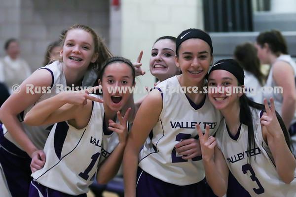 BVT Girls JV Basketball vs Main South