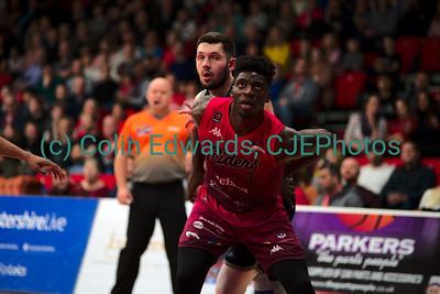 Leicester Riders v Radisson Red Glasgow Rocks, British Basketball League Championship, Morningside