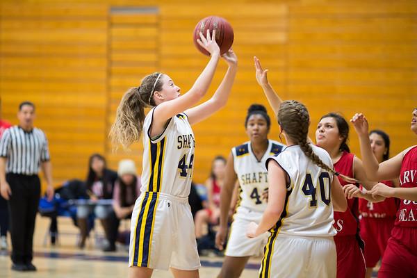 Arvin vs Shafter - Girls Basketball 1-30-2015