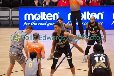 Newcastle Eagles v B Braun Sheffield Sharks, British Basketball League BBL Cup, Eagles Community Arena, Newcastle, England