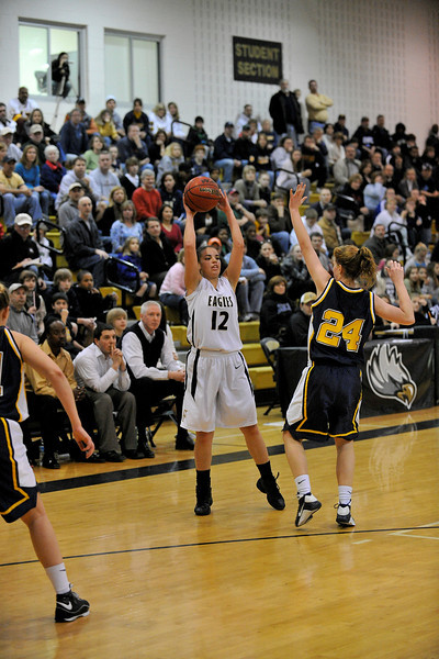 VHSL, Girl's basketball, Dulles District, Loudoun County Raiders vs Freedom Eagles, Sat. Feb.21, 2009, Freedom hs, Freedom wins the division title 61-57