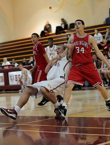 Menlo Atherton JV Men vs. Burlingame, 2011-02-04