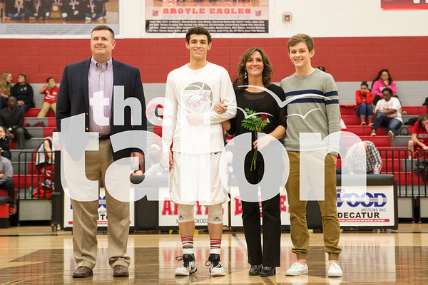 Basketball Senior Night (2-5-16)