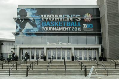 Ohio State vs Maryland Big Ten Women's Basketball Championship @ Sears Centre 03.08.15 by Daniel Bartel