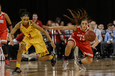 Ohio State Maryland Big 10 Women's Basketball Championship @ Sears Centre 03.08.15