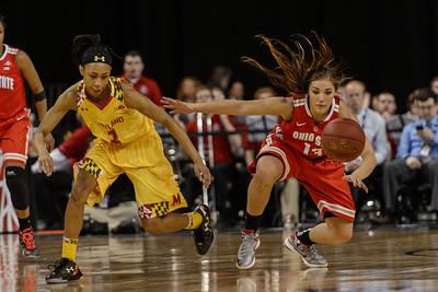 Ohio State Maryland Big 10 Women's Basketball Championship @ Sears Centre 03.08.15