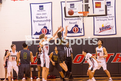 Boys Basketball: Heritage 63, Loudoun Valley 60 by Tim Gregory on January 26, 2017
