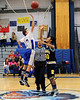 Shelter Island NY January 8th. 2013. Shelter Island Jr. High School Boys Basketball player **********  against Bridghampton at Shelter Island HS. Shelter Island mounted a 2nd half comeback but fell short, loosing to Bridghampton by a score of *** to ***.