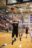 VB's Matthew Ayers (14) finishes a fastbreak with a layup ahead of trailing LB Anthony Masterlasco (2).
