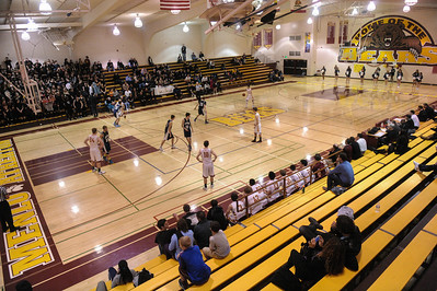 Menlo-Atherton High Varsity Boy's Basketball vs.Carlmont High, 2014-02-07