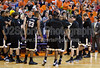 Clemson Tigers vs Wake Forest Deacons Men's Basketball<br /> Wake Forest 78 Clemson 68<br /> Saturday, January 17, 2009 at Littlejohn Coliseum<br /> Clemson, South Carolina<br /> (file 163159_803Q8701_1D3)