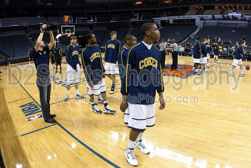 Coker Cobras vs Barton Bulldogs Men's Basketball<br /> Friday, February 11, 2011 at Time Warner Cable Arena<br /> Charlotte, North Carolina<br /> (file 141700_803Q3374_1D3)