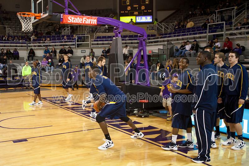 Coker Cobras vs ECU Pirates Men's Basketball<br /> Thursday, November 17, 2011 at Williams Arena<br /> Greenville, North Carolina<br /> (file 202508_803Q7022_1D3)