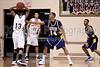 Coker Cobras vs Pfeiffer Falcons Men's Basketball<br /> Wednesday, January 26, 2011 at Pfeiffer University<br /> Misenheimer, North Carolina<br /> (file 192636_803Q2271_1D3)