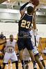 Coker Cobras vs Pfeiffer Falcons Men's Basketball<br /> Wednesday, January 26, 2011 at Pfeiffer University<br /> Misenheimer, North Carolina<br /> (file 192749_BV0H2930_1D4)