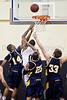 Coker Cobras vs Pfeiffer Falcons Men's Basketball<br /> Wednesday, January 26, 2011 at Pfeiffer University<br /> Misenheimer, North Carolina<br /> (file 192842_803Q2285_1D3)