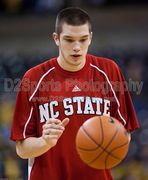 Wake Forest vs NC State Men's Basketball<br /> WFU 85 NC State 78<br /> Thursday, February 26, 2009 at LJVM Coliseum<br /> Winston-Salem, North Carolina<br /> (file 193308_QE6Q8555_1D2N)