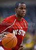 Wake Forest vs NC State Men's Basketball<br /> WFU 85 NC State 78<br /> Thursday, February 26, 2009 at LJVM Coliseum<br /> Winston-Salem, North Carolina<br /> (file 193319_QE6Q8558_1D2N)