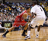 Wake Forest vs NC State Men's Basketball<br /> WFU 85 NC State 78<br /> Thursday, February 26, 2009 at LJVM Coliseum<br /> Winston-Salem, North Carolina<br /> (file 200941_803Q6637_1D3)