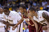 Wake Forest vs Boston College Men's Basketball<br /> Demon Deacons Defeat Boston College, 93-76<br /> Sunday, February 08, 2009 at LJVM Coliseum<br /> Winston-Salem, North Carolina<br /> (file 160518_803Q3419_1D3)