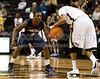 Wake Forest Deacons vs Gonzaga Bulldogs<br /> ACC Basketball<br /> Sunday, January 02, 2011 at Lawrence Joel Veterans Memorial Coliseum<br /> Winston-Salem, North Carolina<br /> (file 131211_803Q1092_1D3)