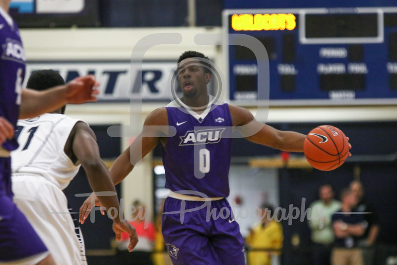 Abilene Christian Wildcats guard Jaylen Franklin (0)