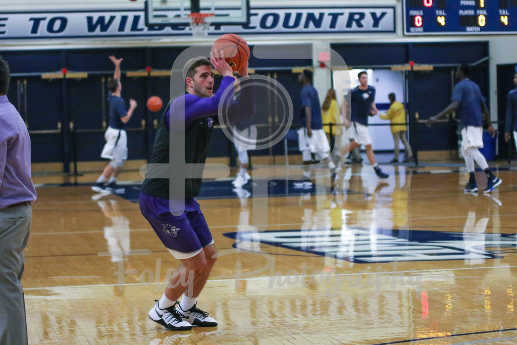 Thursday, November 17, 2016; Durham, New Hampshire;  during the Abilene Christian's 65-57 victory over UNH.