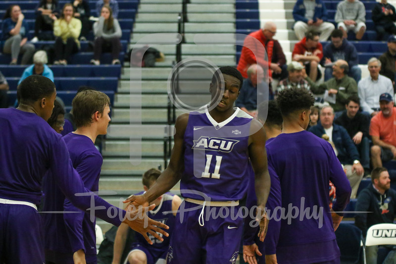 Abilene Christian Wildcats guard Drake Green (11)