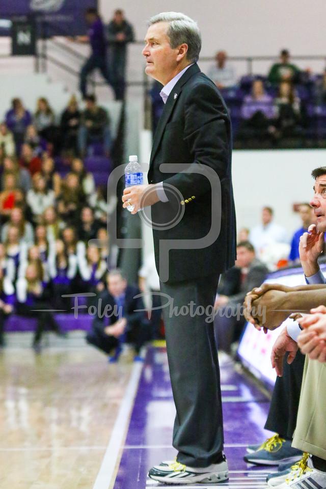 Holy Cross Crusaders head coach Bill Carmody