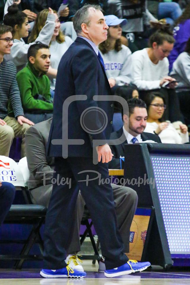 American University Eagles head coach Mike Brennan