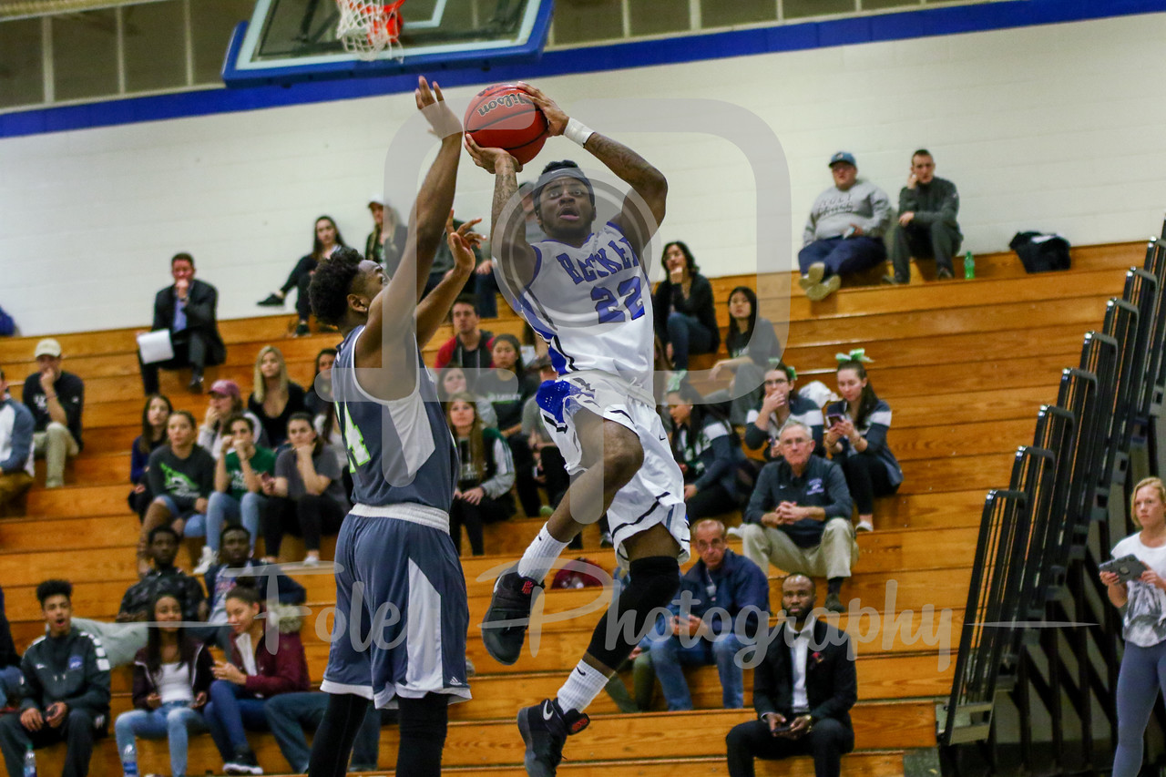 Becker College Hawks guard Antonio White Jr. (22)