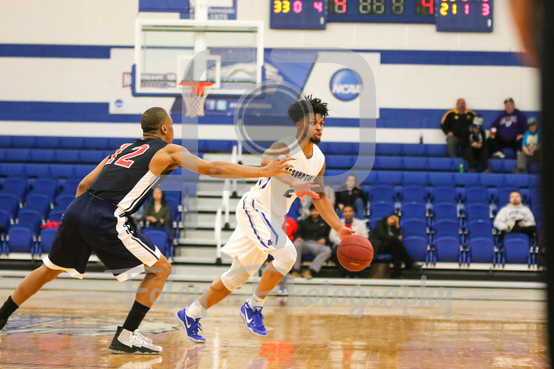 Assumption College guard Justin Tuckson (2)