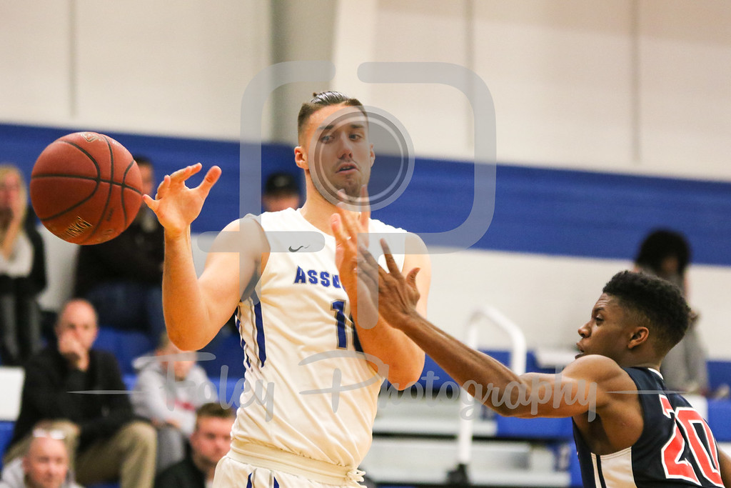 Assumption College forward Damien Rance (10)