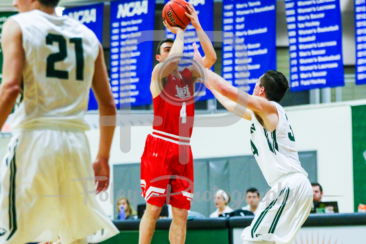 WPI Engineers guard Jake Wisniewski (4)