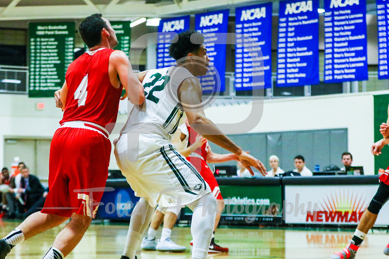 Wednesday, January 11, 2017; Babson Park, MA;  during the Beavers 65-59 victory over the Engineers.