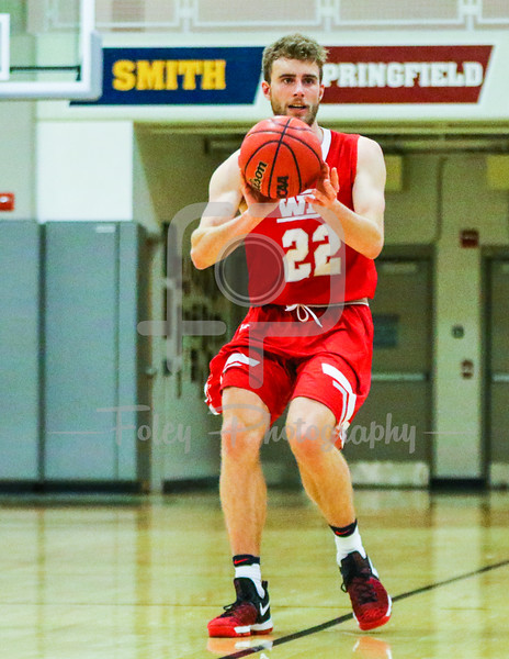 WPI Engineers forward Connor Willgress (22)