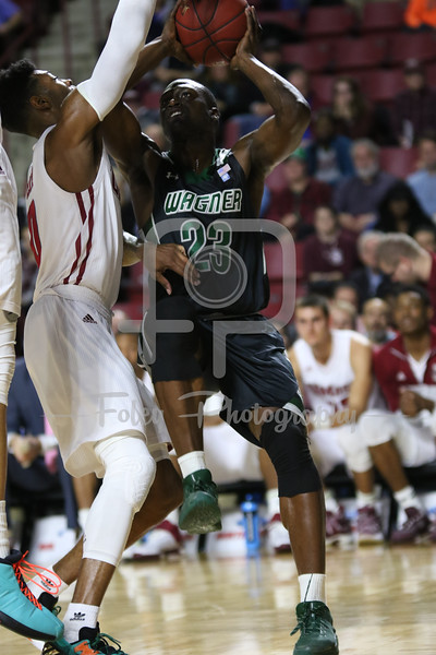 Wednesday, November 30, 2016; Amherst, Massachusetts;  during the Minutemen's 62-55 victory over the Seahawks.