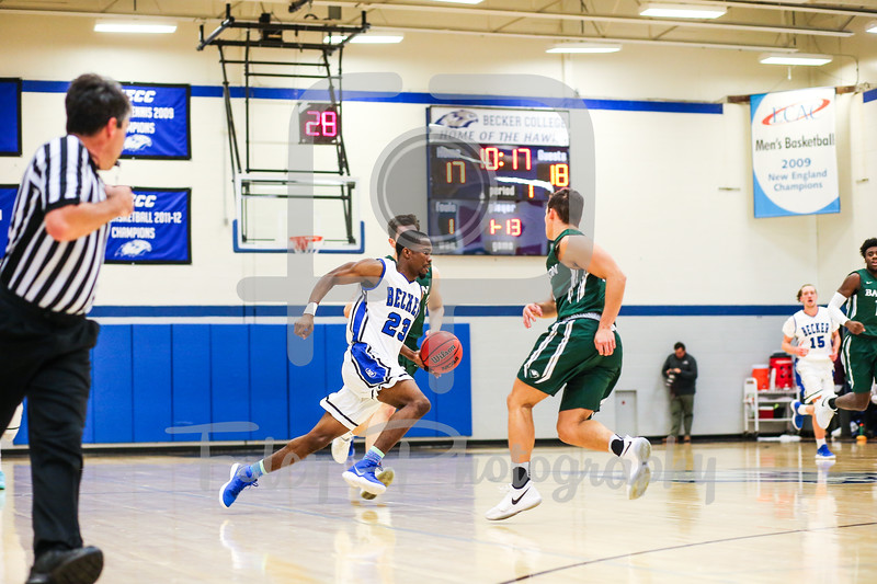 Becker College Hawks guard Jamir Carr (23)